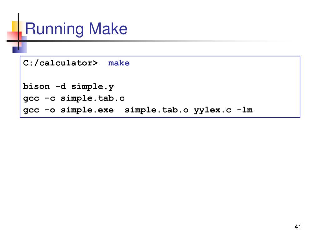Running Make
