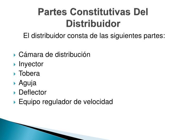 Partes Constitutivas Del