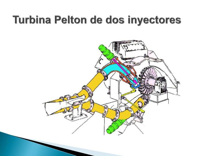 Turbina Pelton de dos inyectores