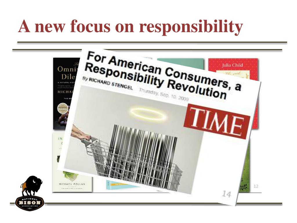 A new focus on responsibility
