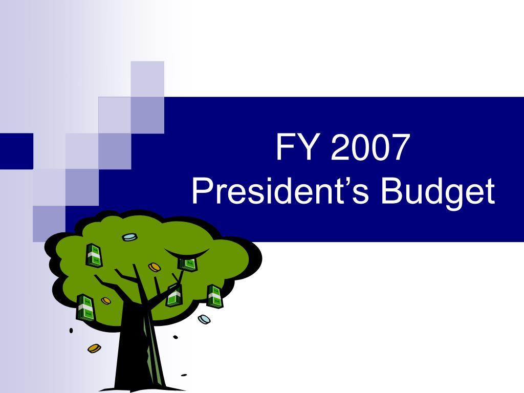 FY 2007