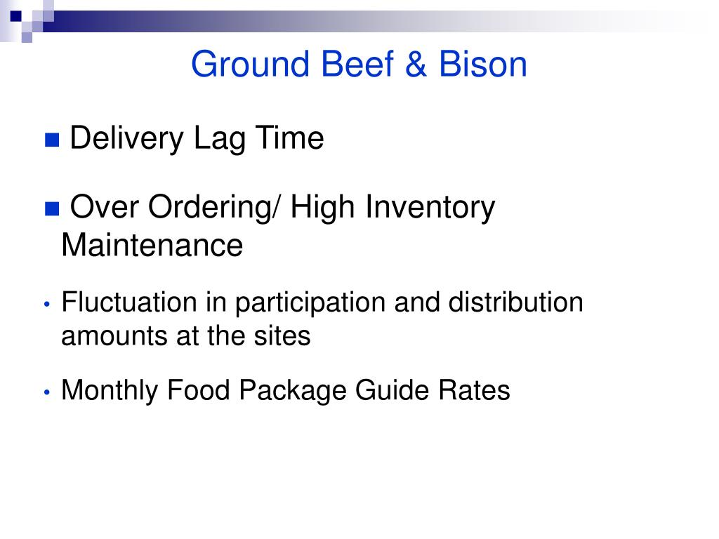 Ground Beef & Bison