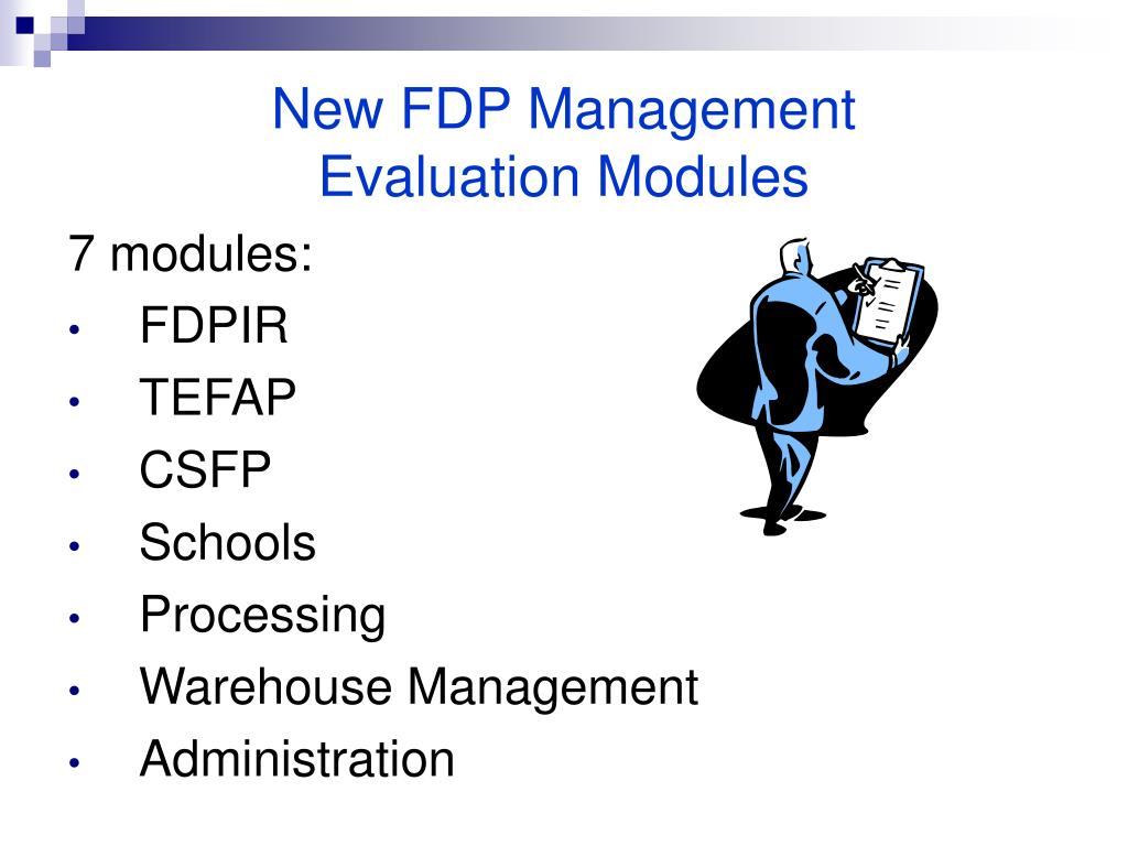 New FDP Management