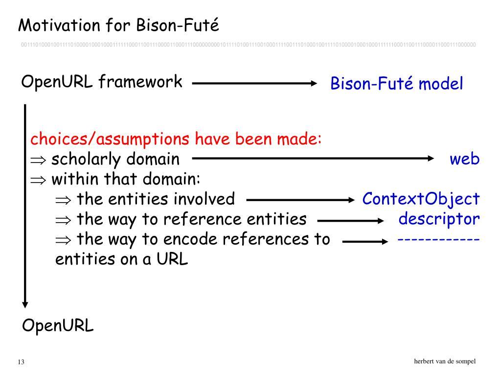 Bison-Futé model