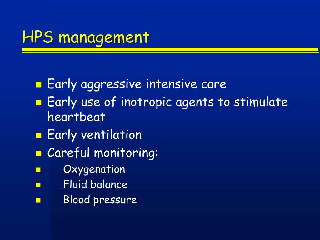 HPS management