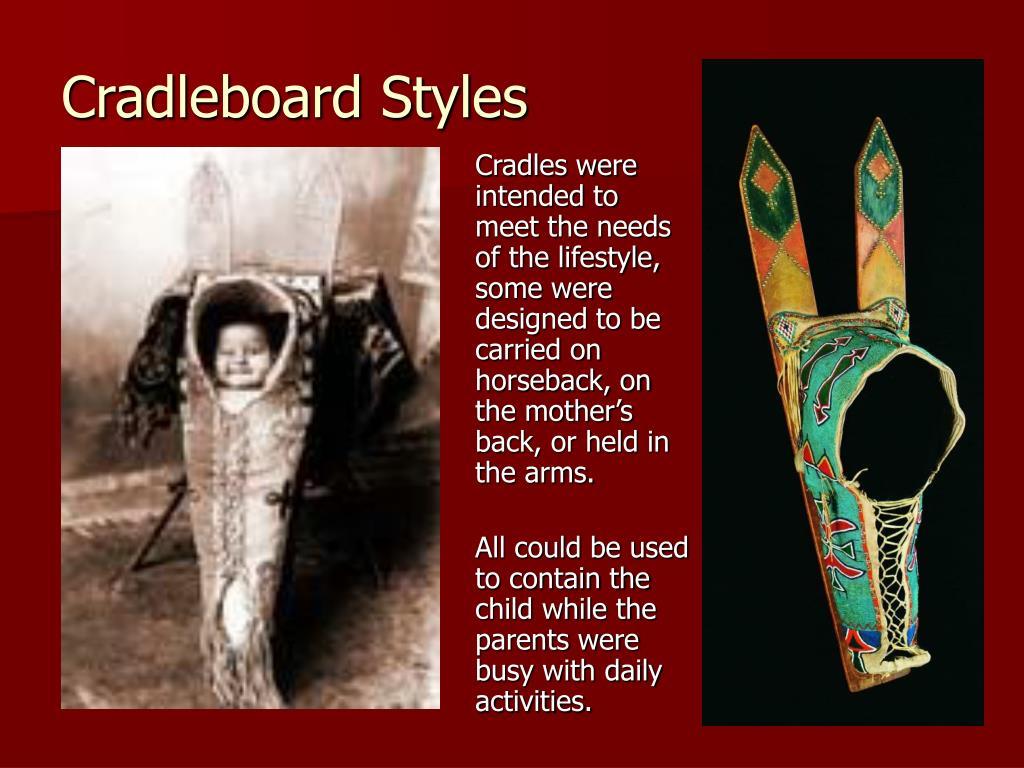 Cradleboard Styles