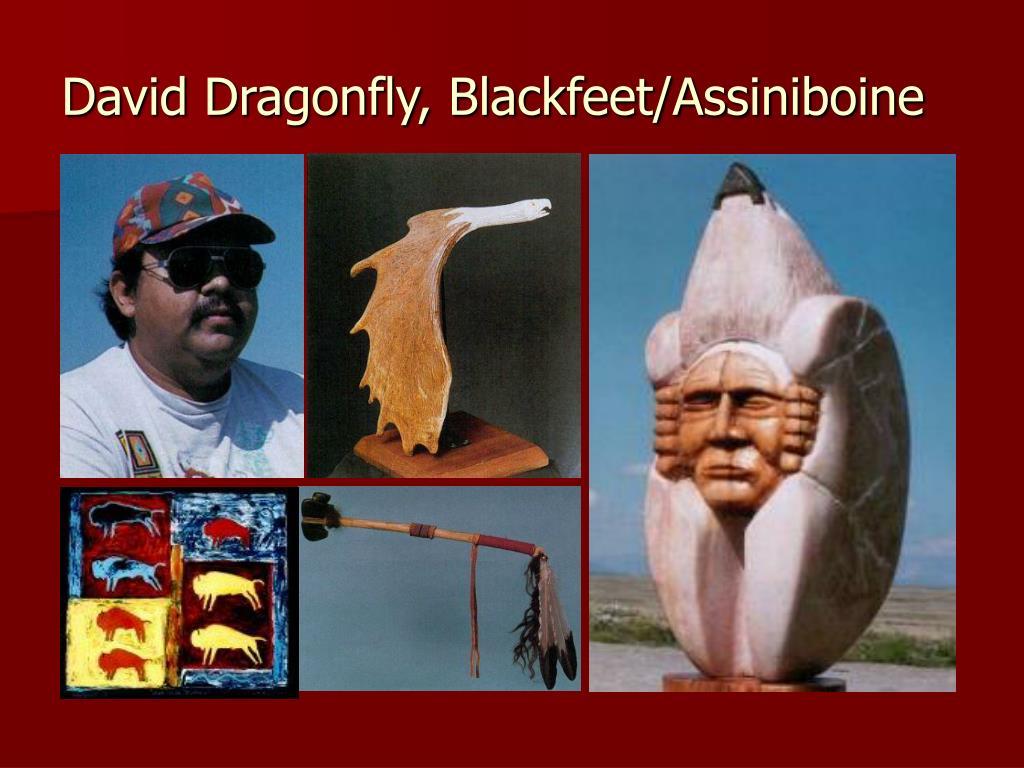David Dragonfly, Blackfeet/Assiniboine
