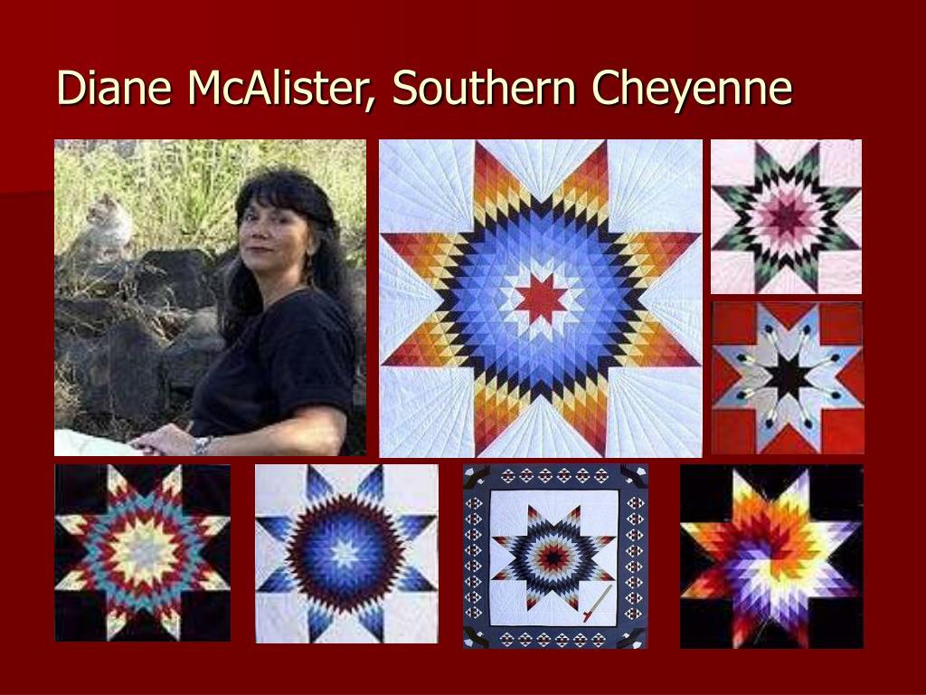 Diane McAlister, Southern Cheyenne