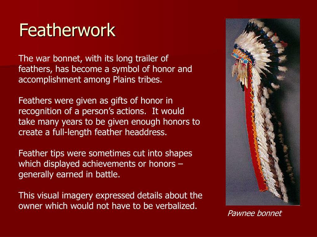 Featherwork