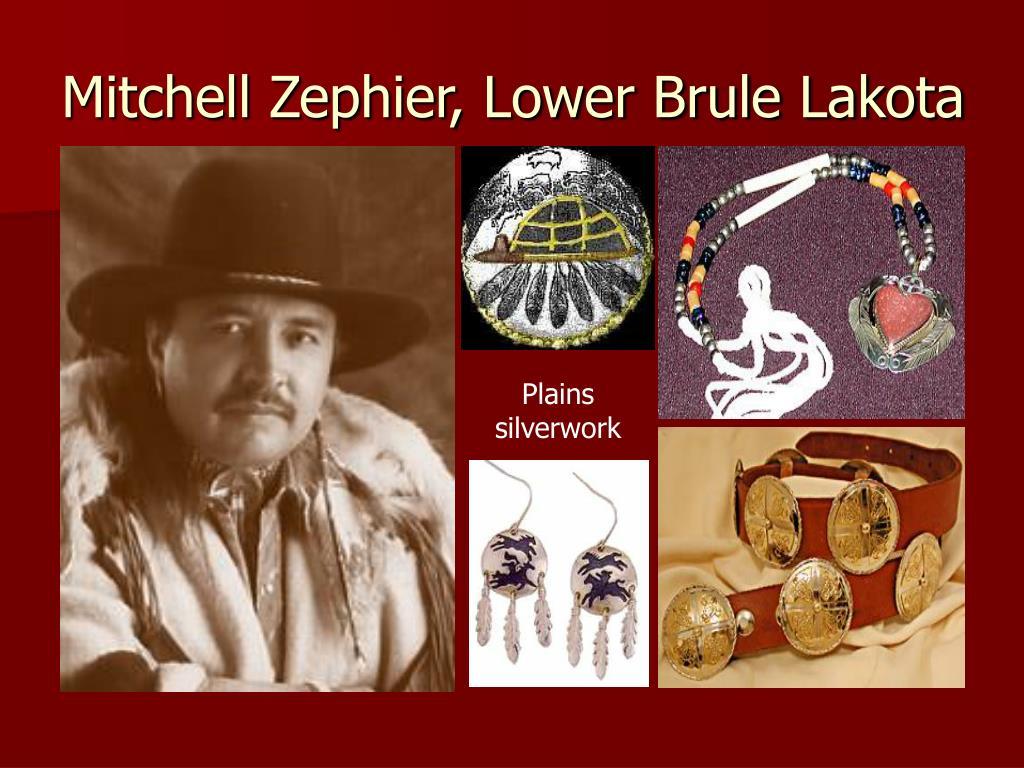 Mitchell Zephier, Lower Brule Lakota