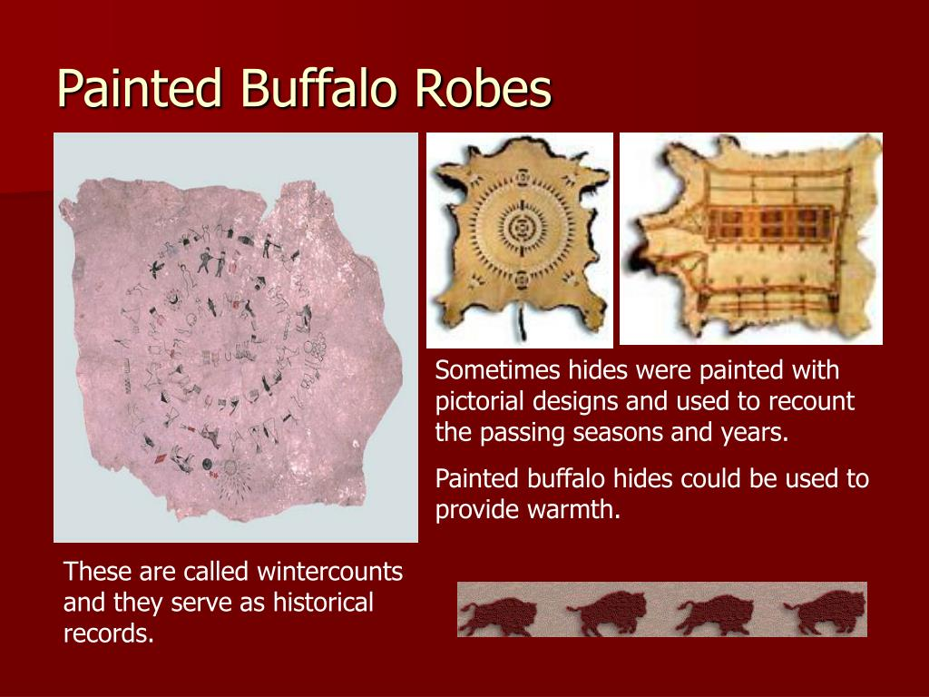 Painted Buffalo Robes