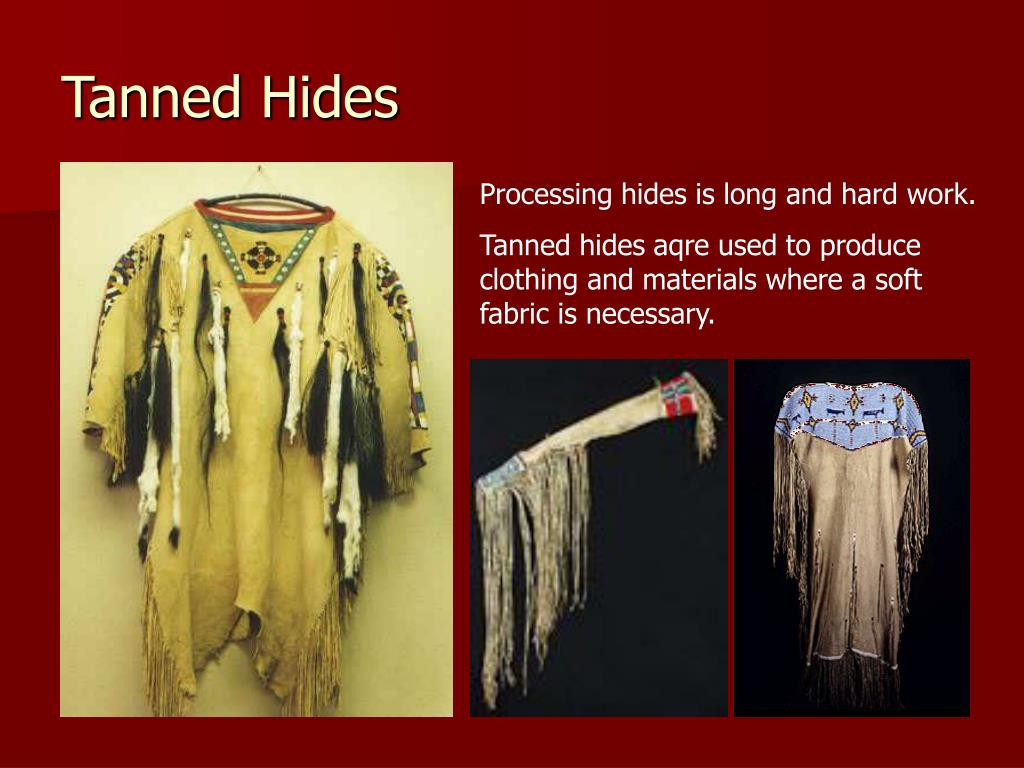 Tanned Hides