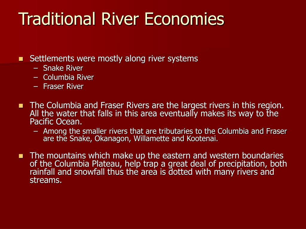 Traditional River Economies