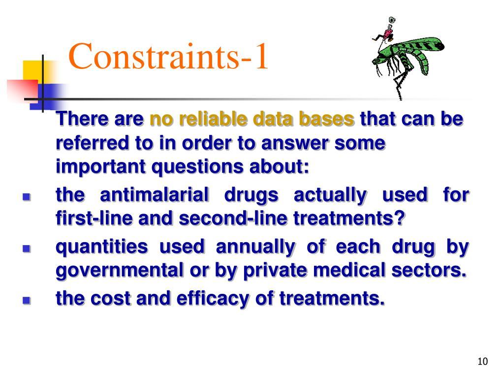 Constraints-1
