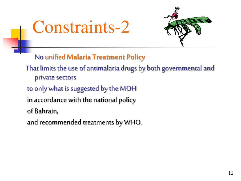 Constraints-2