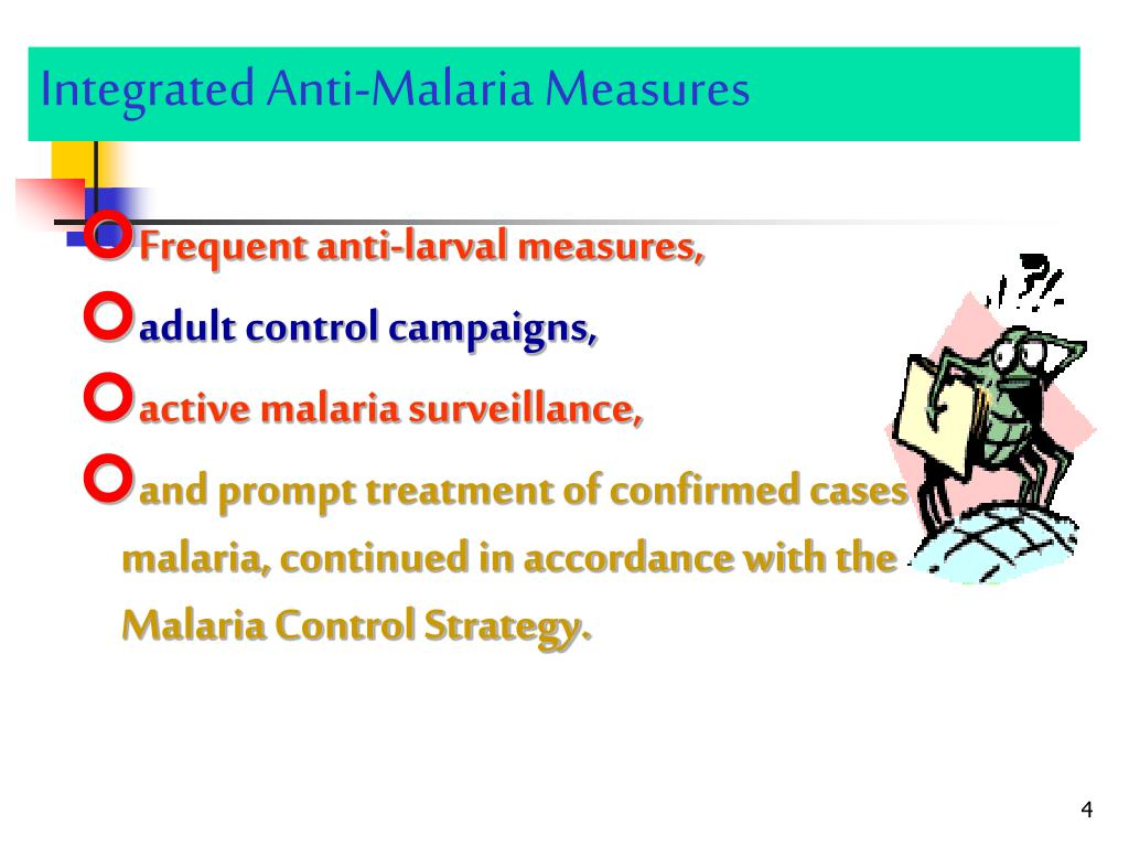 Integrated Anti-Malaria Measures