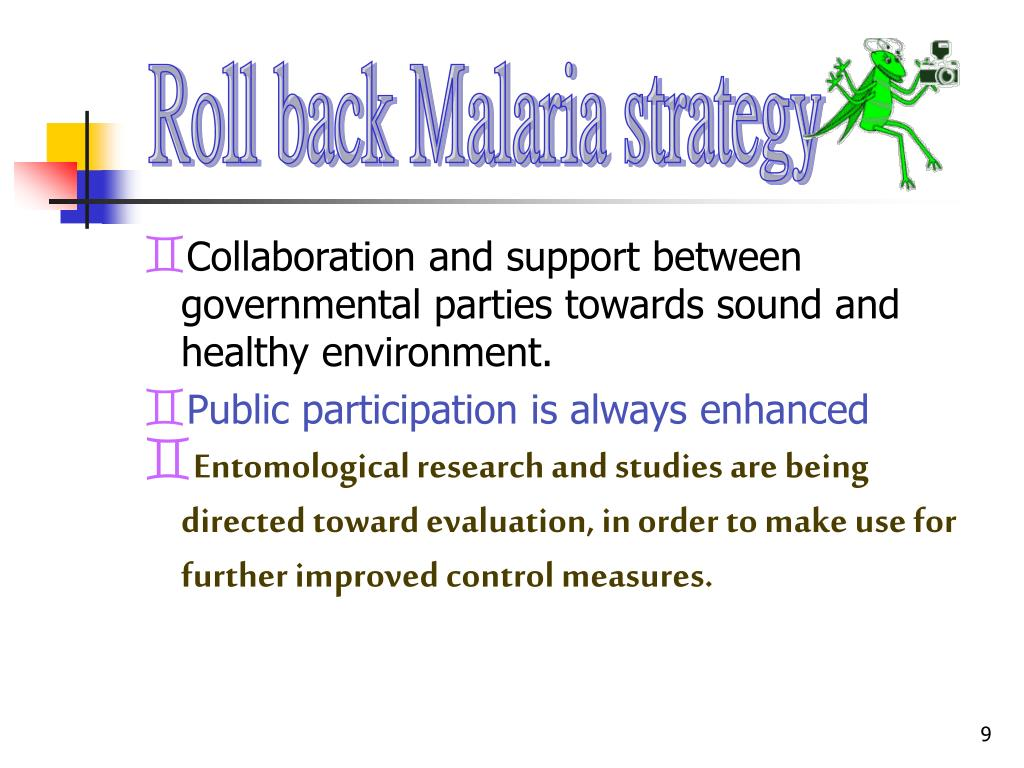 Roll back Malaria strategy