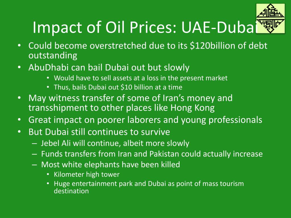 Impact of Oil Prices: UAE-Dubai