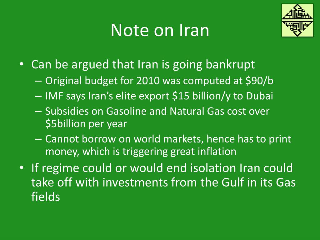 Note on Iran