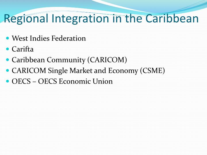 integration in the caribbean Integration definition, an act or instance of combining into an integral whole see more.