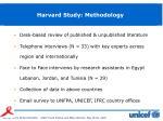 harvard study methodology