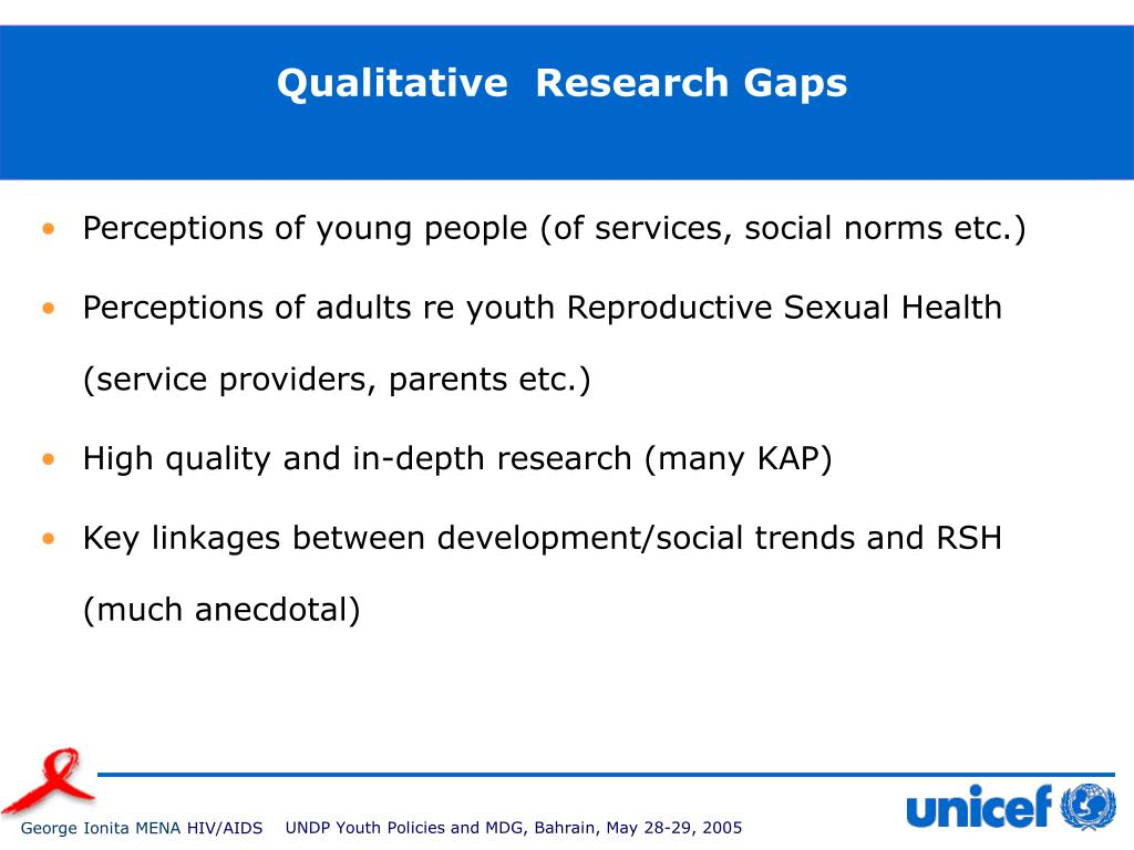 Qualitative  Research Gaps