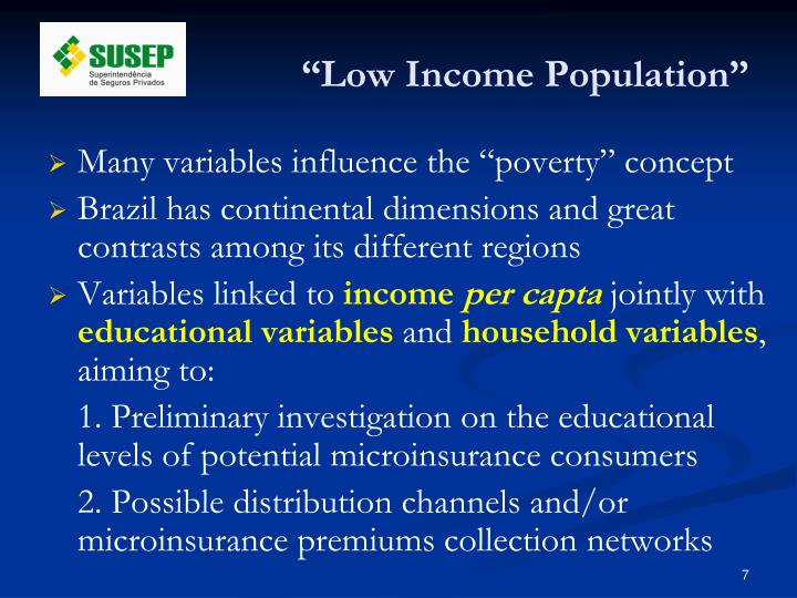 """""""Low Income Population"""""""