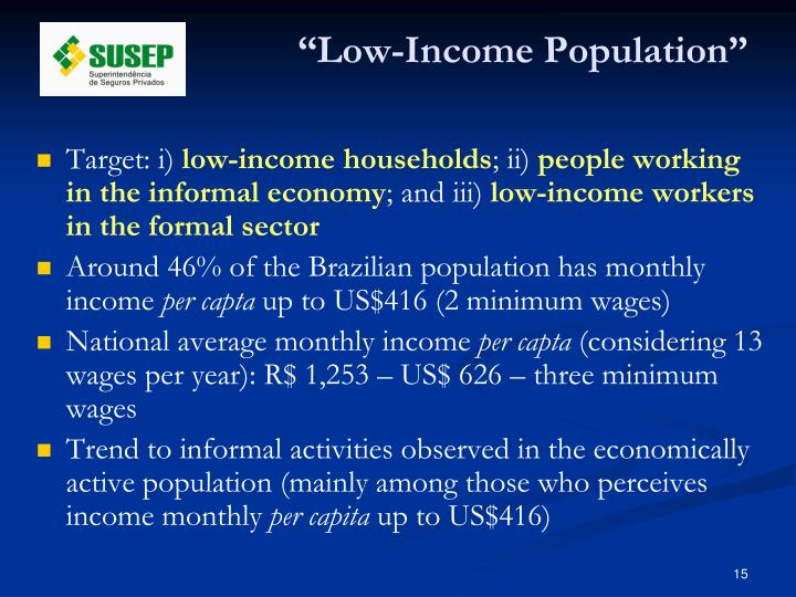 """""""Low-Income Population"""""""