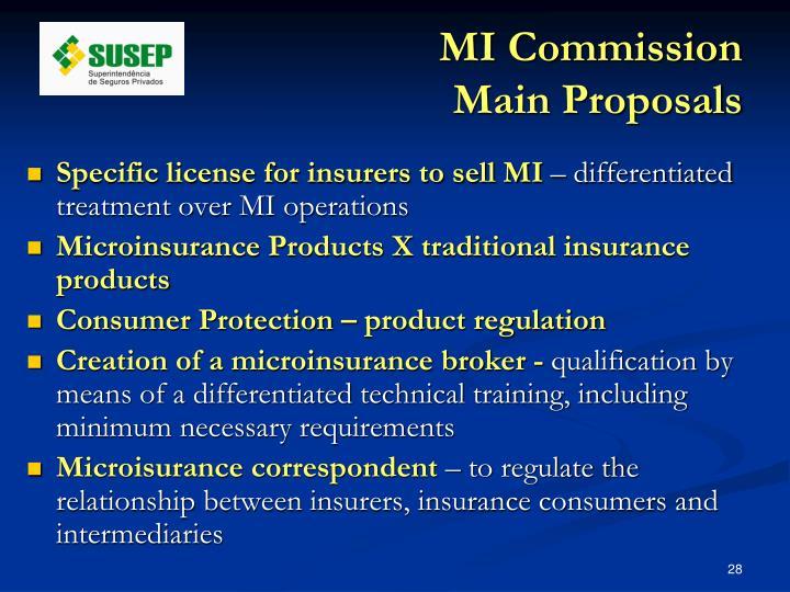 MI Commission