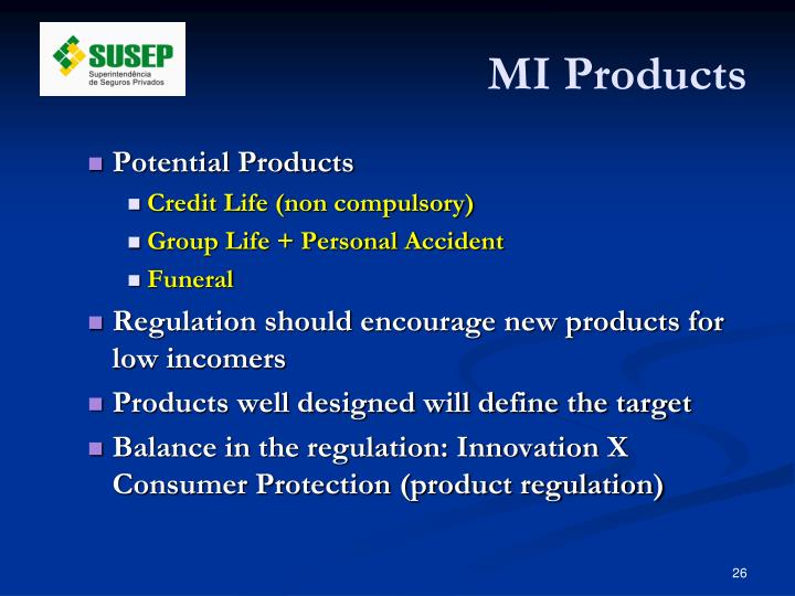 MI Products