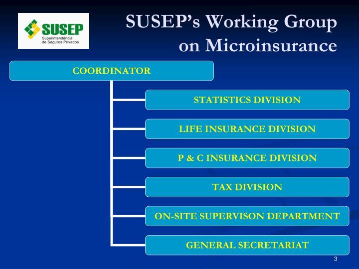 SUSEP's Working Group