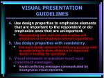 visual presentation guidelines1