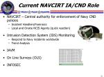 current navcirt ia cnd role