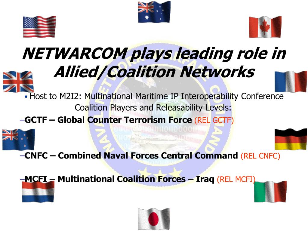NETWARCOM plays leading role in Allied/Coalition Networks