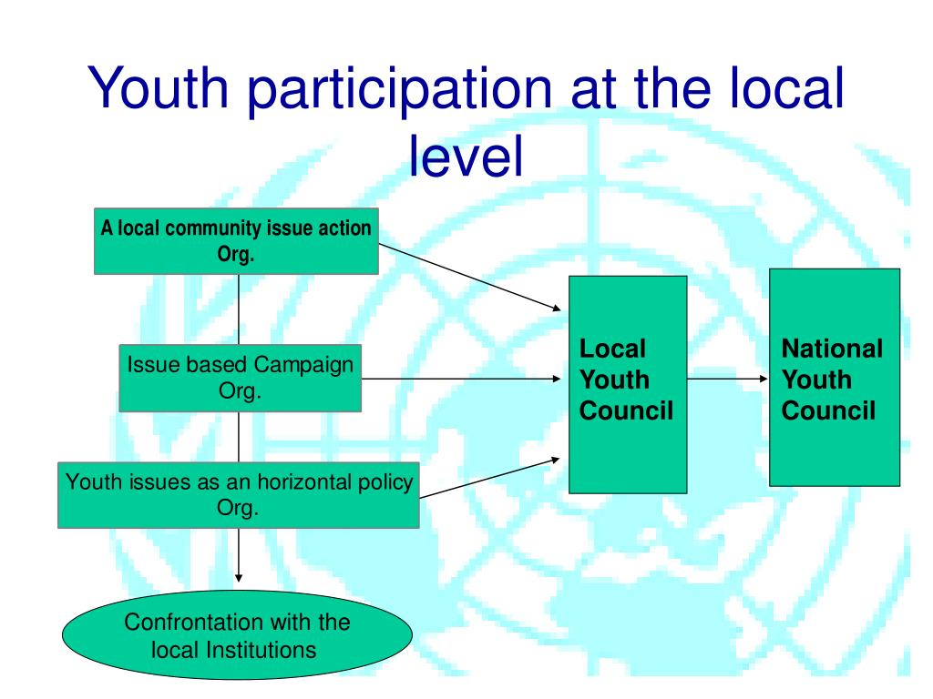 Youth participation at the local level