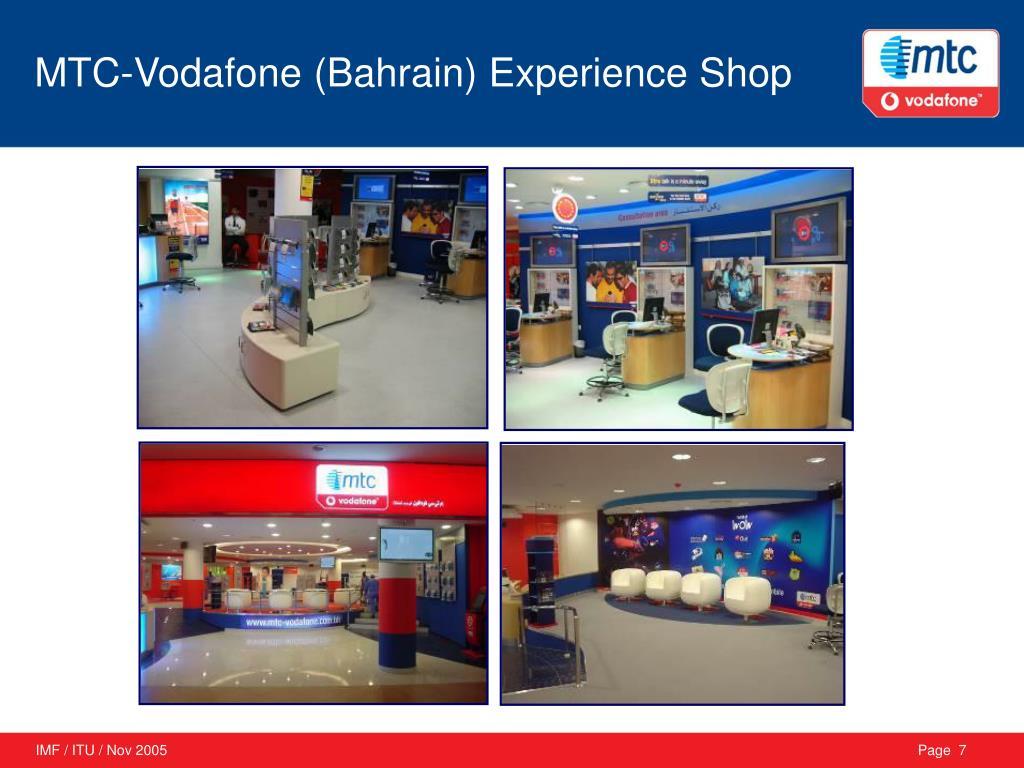 MTC-Vodafone (Bahrain) Experience Shop