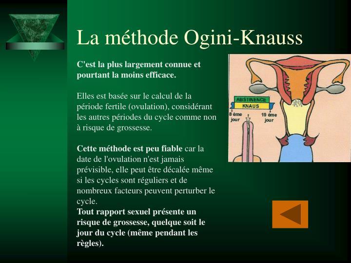 La méthode Ogini-Knauss