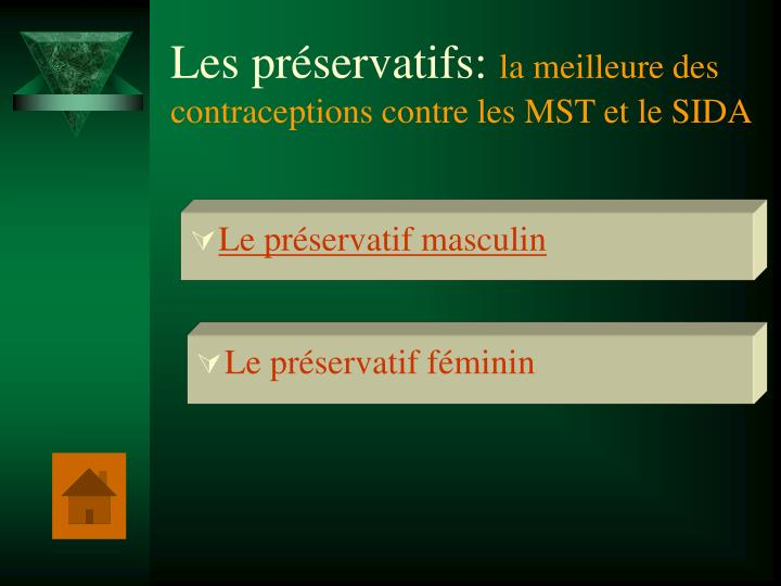 Les préservatifs: