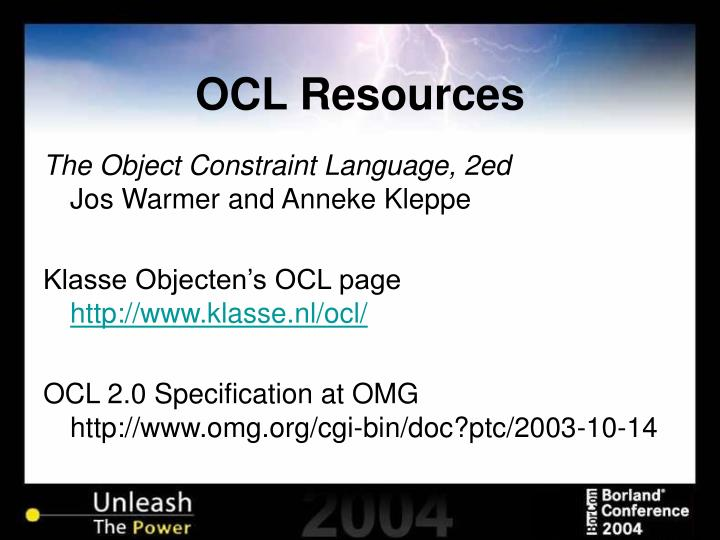 OCL Resources