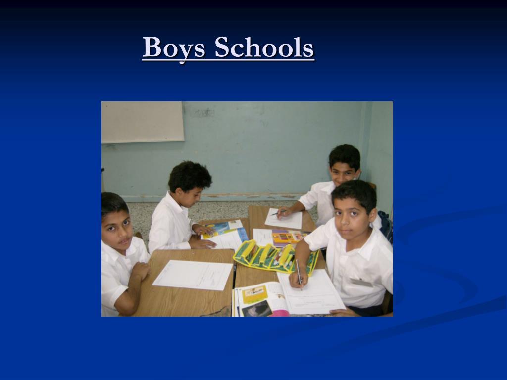 Boys Schools