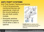 anti theft systems anti theft system testing and service1