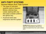 anti theft systems general motors anti theft system