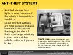 anti theft systems
