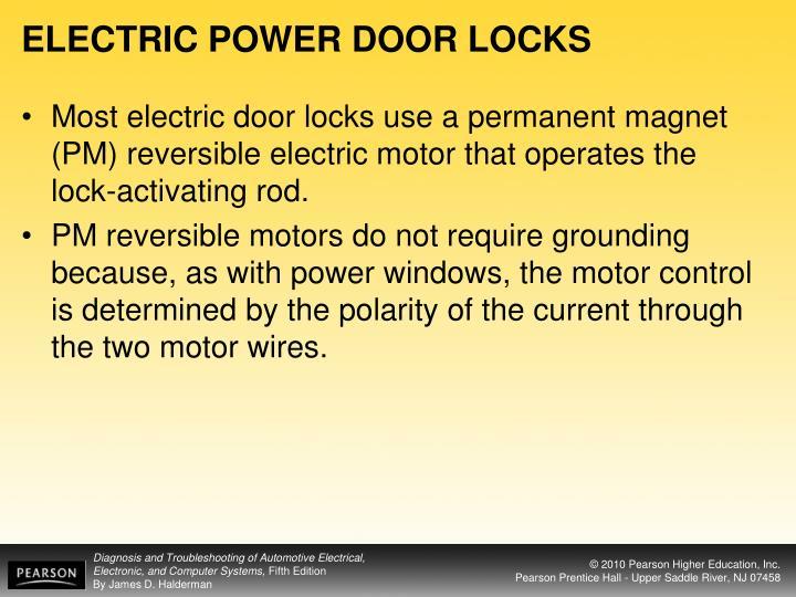 ELECTRIC POWER DOOR LOCKS