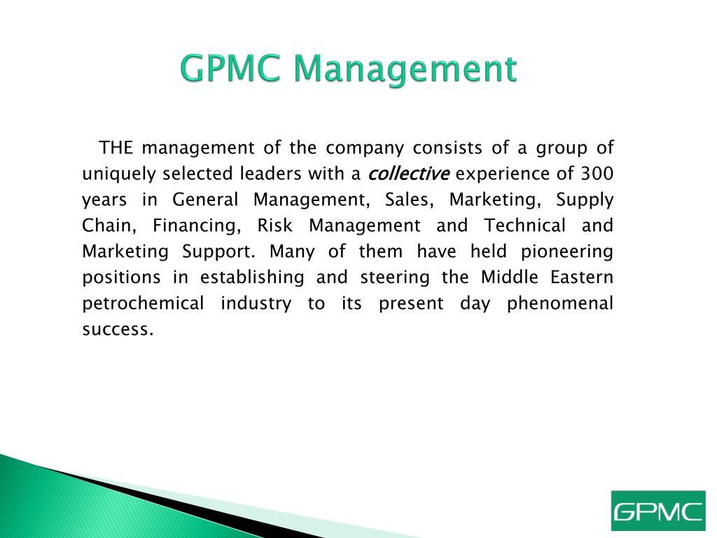 GPMC Management