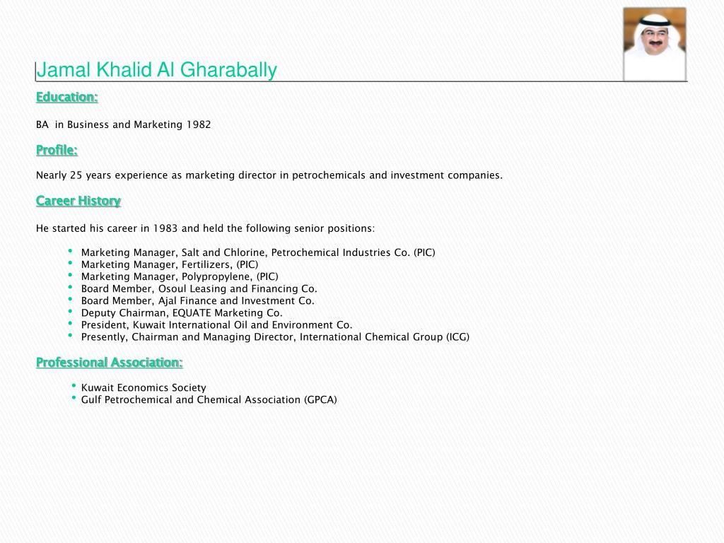 Jamal Khalid Al Gharabally