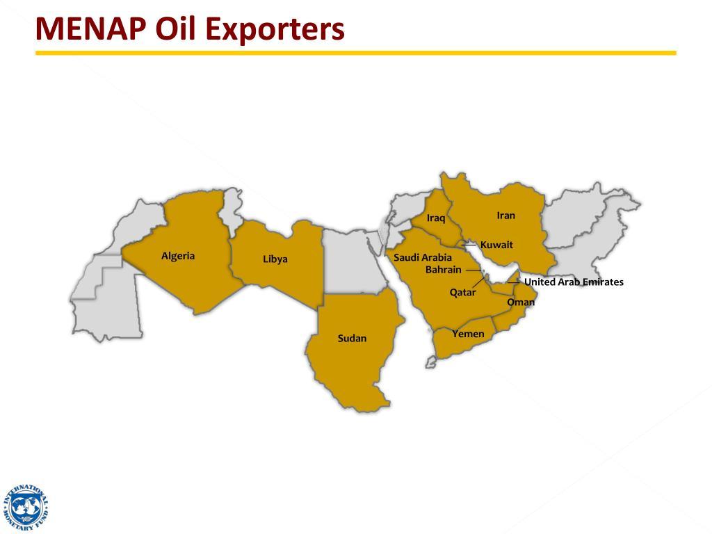 MENAP Oil Exporters