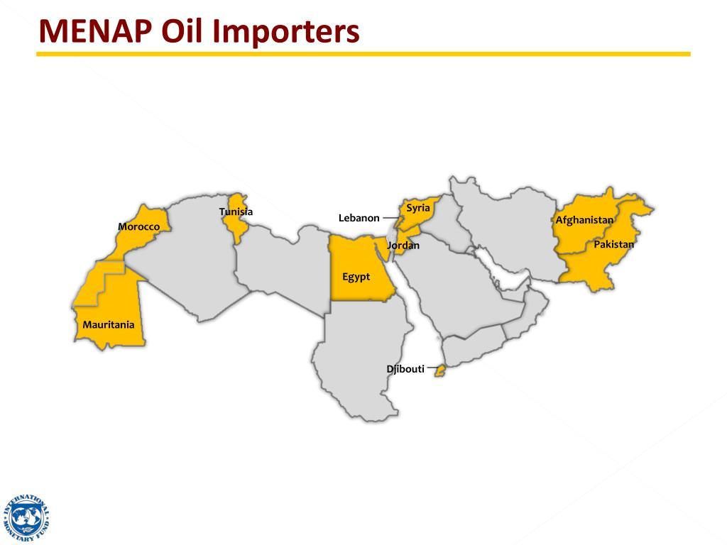 MENAP Oil Importers