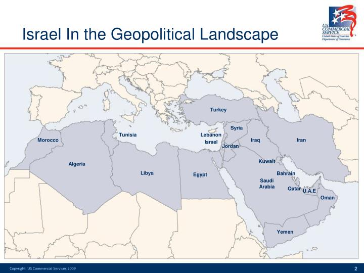 Israel in the geopolitical landscape l.jpg