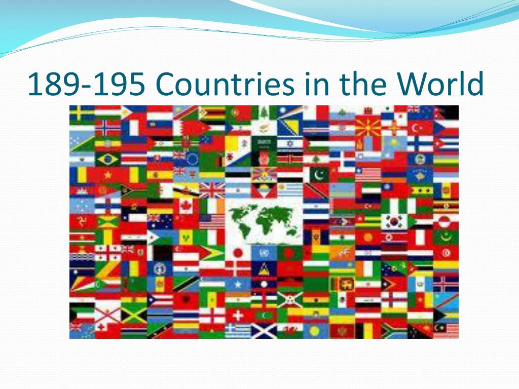 189-195 Countries in the World